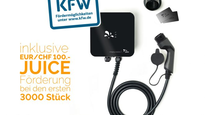 Juice Charger me I 11 kW-Version